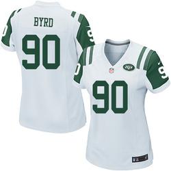 Game Women's Dennis Byrd New York Jets Nike Jersey - White