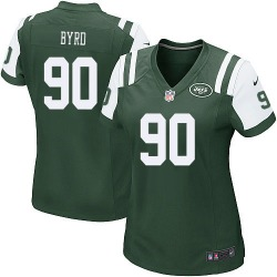 Game Women's Dennis Byrd New York Jets Nike Team Color Jersey - Green