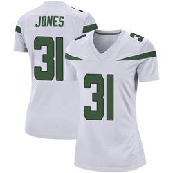 Game Women's Derrick Jones New York Jets Nike Jersey - Spotlight White