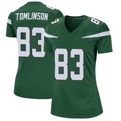 Game Women's Eric Tomlinson New York Jets Nike Jersey - Gotham Green