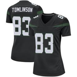 Game Women's Eric Tomlinson New York Jets Nike Jersey - Stealth Black