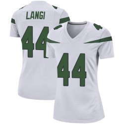 Game Women's Harvey Langi New York Jets Nike Jersey - Spotlight White