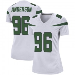 Game Women's Henry Anderson New York Jets Nike Jersey - Spotlight White