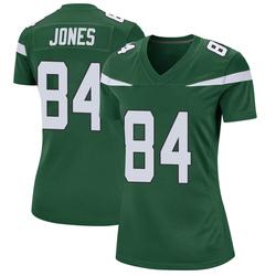 Game Women's J.J. Jones New York Jets Nike Jersey - Gotham Green