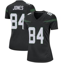Game Women's J.J. Jones New York Jets Nike Jersey - Stealth Black