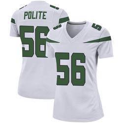 Game Women's Jachai Polite New York Jets Nike Jersey - Spotlight White