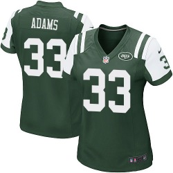 Game Women's Jamal Adams New York Jets Nike Team Color Jersey - Green