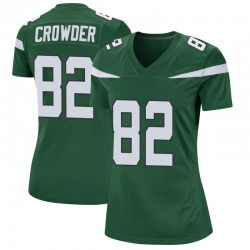 Game Women's Jamison Crowder New York Jets Nike Jersey - Gotham Green