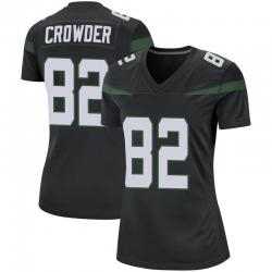Game Women's Jamison Crowder New York Jets Nike Jersey - Stealth Black