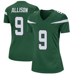 Game Women's Jeff Allison New York Jets Nike Jersey - Gotham Green