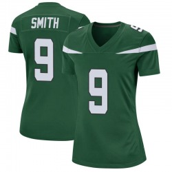 Game Women's Jeff Smith New York Jets Nike Jersey - Gotham Green