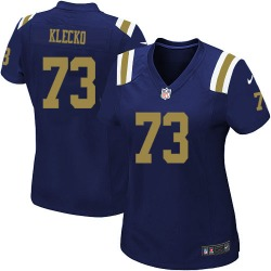 Game Women's Joe Klecko New York Jets Nike Alternate Jersey - Navy Blue