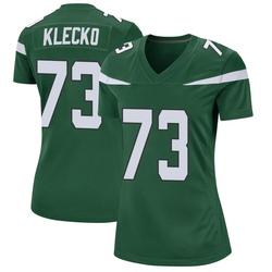 Game Women's Joe Klecko New York Jets Nike Jersey - Gotham Green