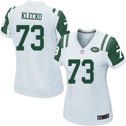 Game Women's Joe Klecko New York Jets Nike Jersey - White