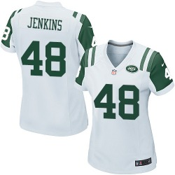 Game Women's Jordan Jenkins New York Jets Nike Jersey - White