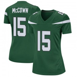Game Women's Josh McCown New York Jets Nike Jersey - Gotham Green