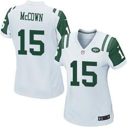 Game Women's Josh McCown New York Jets Nike Jersey - White