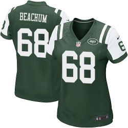 Game Women's Kelvin Beachum New York Jets Nike Team Color Jersey - Green