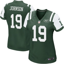 Game Women's Keyshawn Johnson New York Jets Nike Team Color Jersey - Green