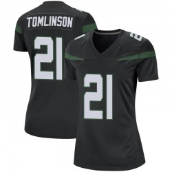 Game Women's LaDainian Tomlinson New York Jets Nike Jersey - Stealth Black