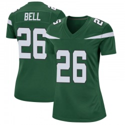 Game Women's Le'Veon Bell New York Jets Nike Jersey - Gotham Green
