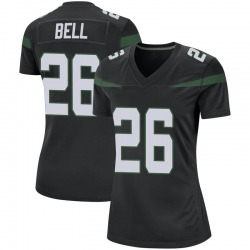 Game Women's Le'Veon Bell New York Jets Nike Jersey - Stealth Black