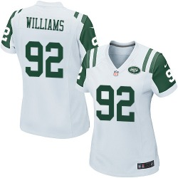 Game Women's Leonard Williams New York Jets Nike Jersey - White