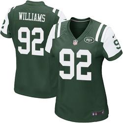 Game Women's Leonard Williams New York Jets Nike Team Color Jersey - Green