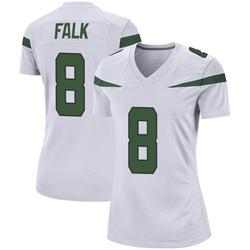 Game Women's Luke Falk New York Jets Nike Jersey - Spotlight White