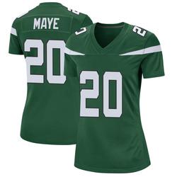 Game Women's Marcus Maye New York Jets Nike Jersey - Gotham Green