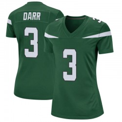 Game Women's Matt Darr New York Jets Nike Jersey - Gotham Green