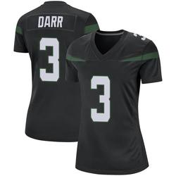 Game Women's Matt Darr New York Jets Nike Jersey - Stealth Black