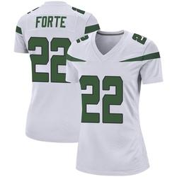 Game Women's Matt Forte New York Jets Nike Jersey - Spotlight White