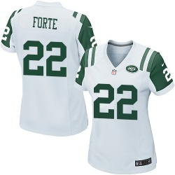 Game Women's Matt Forte New York Jets Nike Jersey - White