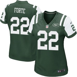 Game Women's Matt Forte New York Jets Nike Team Color Jersey - Green