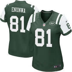 Game Women's Quincy Enunwa New York Jets Nike Team Color Jersey - Green