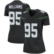 Game Women's Quinnen Williams New York Jets Nike Jersey - Stealth Black