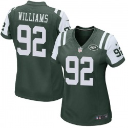 Game Women's Quinnen Williams New York Jets Nike Team Color Jersey - Green