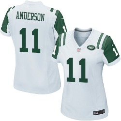 Game Women's Robby Anderson New York Jets Nike Jersey - White