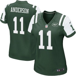 Game Women's Robby Anderson New York Jets Nike Team Color Jersey - Green