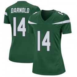 Game Women's Sam Darnold New York Jets Nike Jersey - Gotham Green