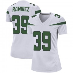 Game Women's Santos Ramirez New York Jets Nike Jersey - Spotlight White