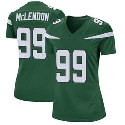 Game Women's Steve McLendon New York Jets Nike Jersey - Gotham Green