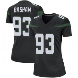 Game Women's Tarell Basham New York Jets Nike Jersey - Stealth Black