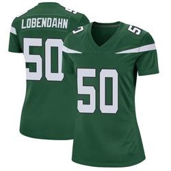Game Women's Toa Lobendahn New York Jets Nike Jersey - Gotham Green