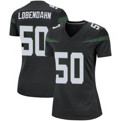 Game Women's Toa Lobendahn New York Jets Nike Jersey - Stealth Black