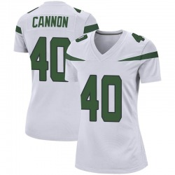 Game Women's Trenton Cannon New York Jets Nike Jersey - Spotlight White