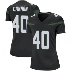 Game Women's Trenton Cannon New York Jets Nike Jersey - Stealth Black