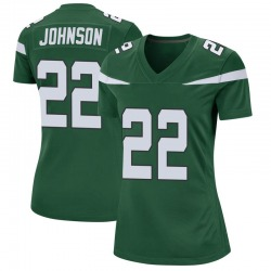 Game Women's Trumaine Johnson New York Jets Nike Jersey - Gotham Green