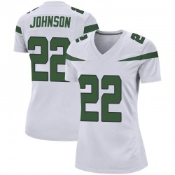 Game Women's Trumaine Johnson New York Jets Nike Jersey - Spotlight White
